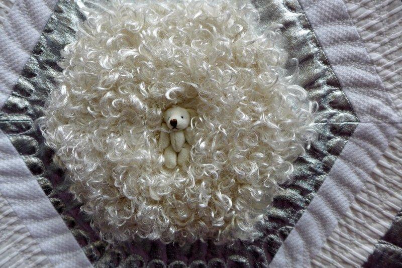 Birgitta Debenham: Ten Tiny Teddies, Detail (Contemporary Quilts) The Festival of Quilts 2015