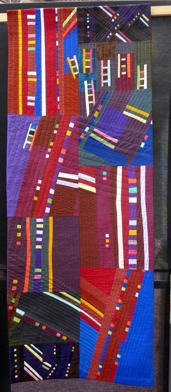 Jacqueline Eisenring-Weiss: West Side Story (Contemporary Quilts) The Festival of Quilts 2015