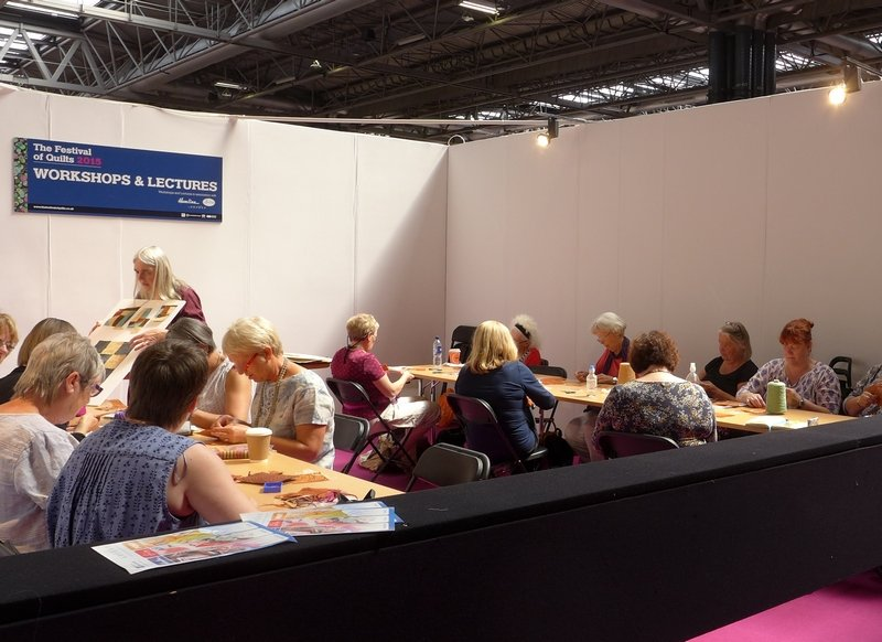Quick & Easy Workshop The Festival of Quilts 2015