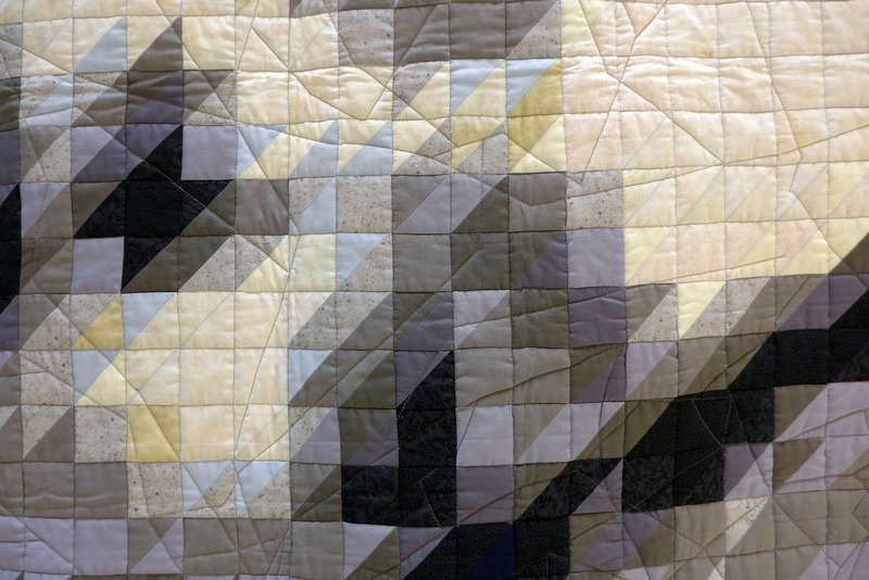 Andy Brunhammer: Sleep Jezebel, Detail (Art Quilts) The Festival of Quilts 2015