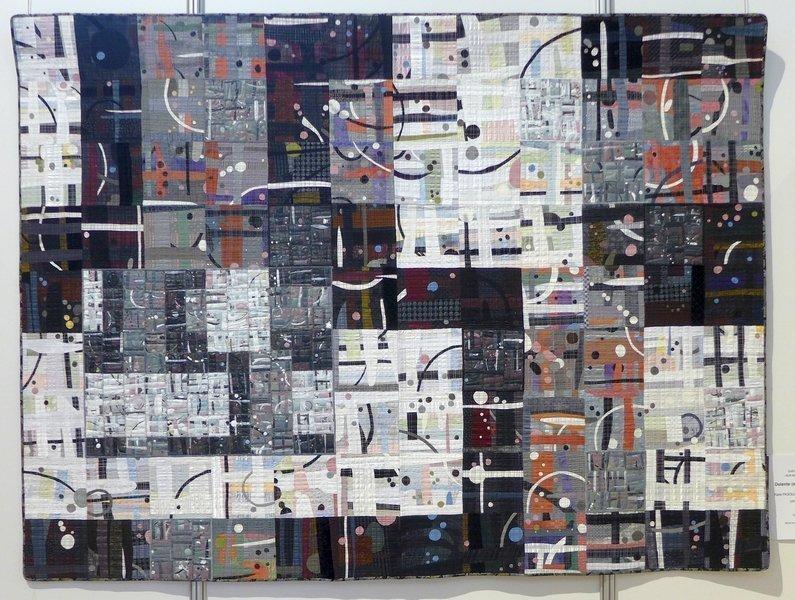 Katie Pasquini Masopust (USA): Dolente (sorrowfully) Auswahl aus der Quilt National 2013 21. Europäisches Patchwork Treffen 2015