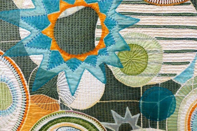 Marianne Burr (USA): Thru the Lens Auswahl aus der Quilt National 2013 21. Europäisches Patchwork Treffen 2015