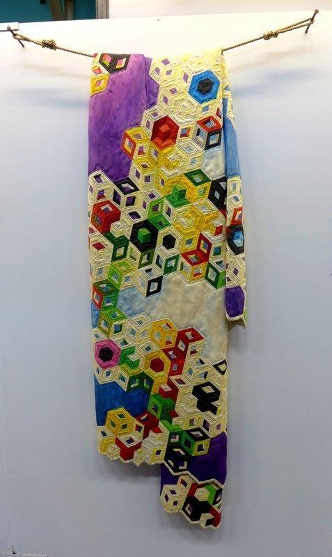 Fraser Smith (USA): The Theory of Everything Ausstellung 'Die geschnitzten Quilts von Fraser Smith' 21. Europäisches Patchwork Treffen 2015