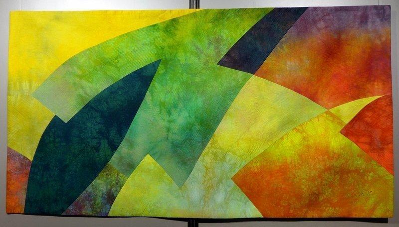 Heide Stoll-Weber (D): Shapes and Lines 30 Ausstellung 'Shapes and Lines' 21. Europäisches Patchwork Treffen 2015