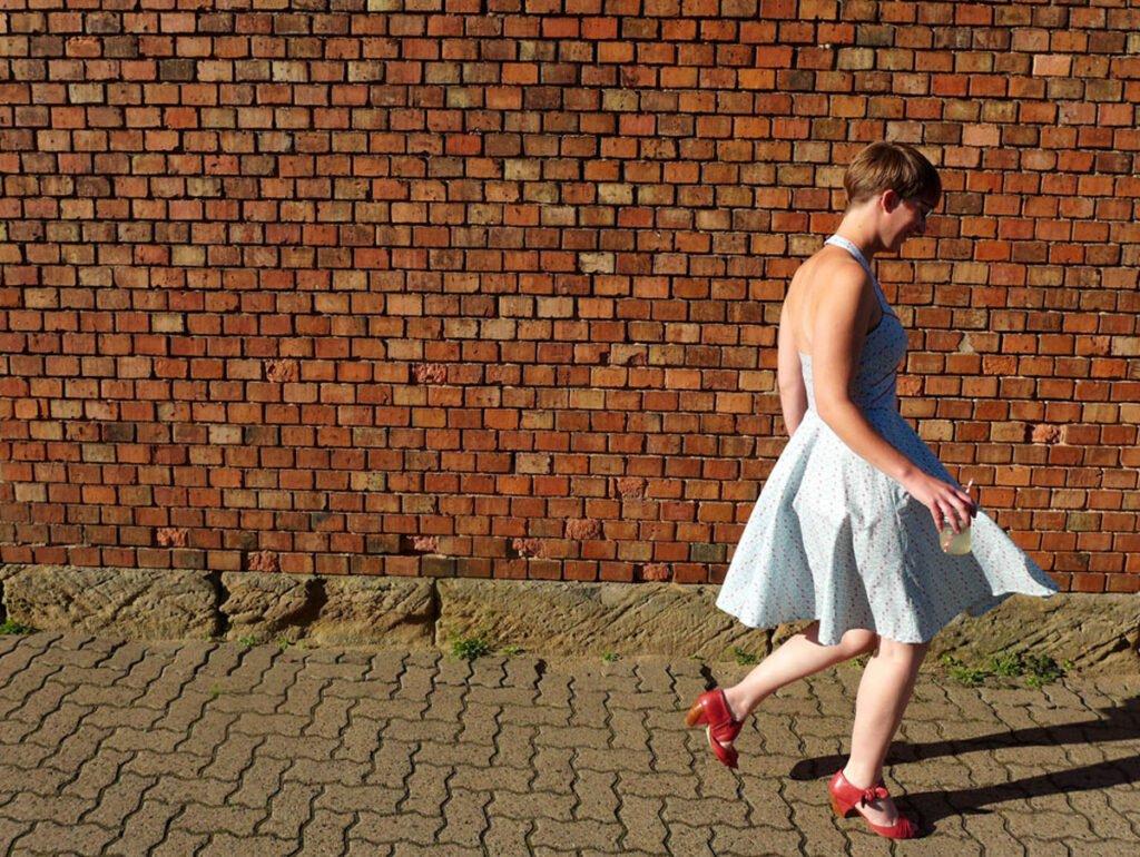 Sommerkleid mit Paspel- endlich fertig 3