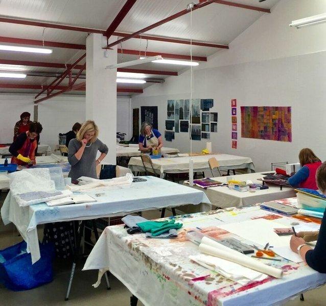 Committed to Cloth Studio Foto freundlicherweise von Leslie Morgan zur Verfügung gestellt