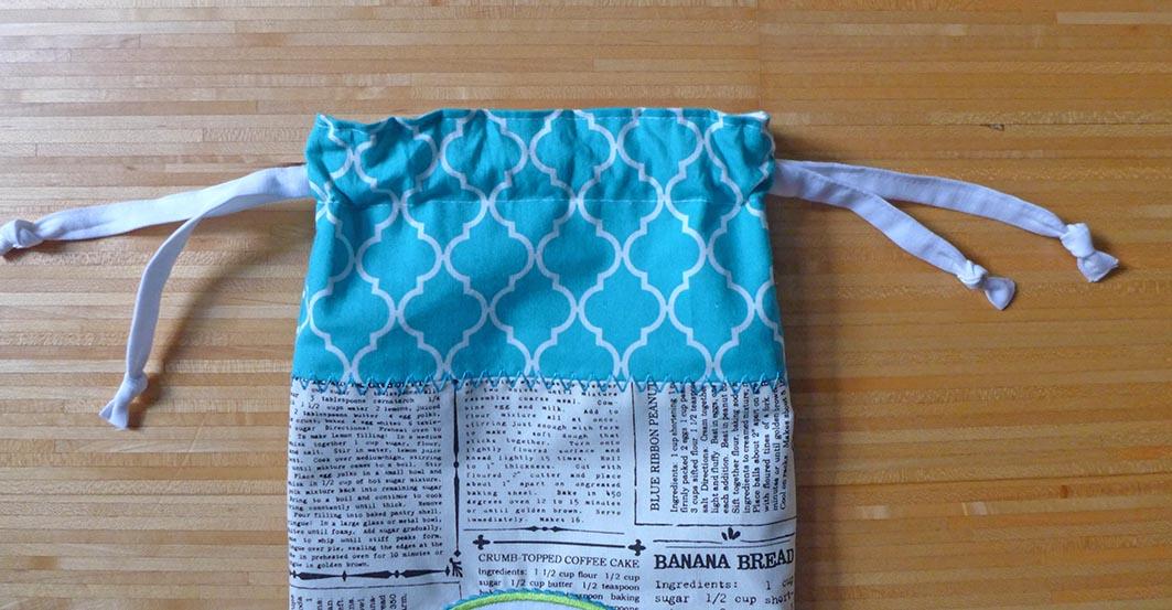 Brotbeutel-Nähanleitung mit Stickdatei » BERNINA Blog