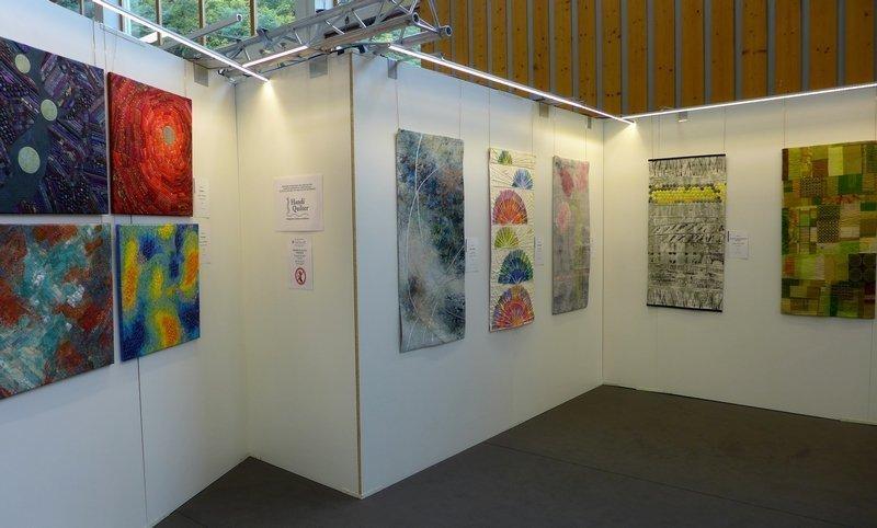 Blick in die Ausstellung 'Radiation - Strahlung' während der Präsentation beim EPM 2014 in Ste Marie-aux-Mines (F) Foto: Gudrun Heinz