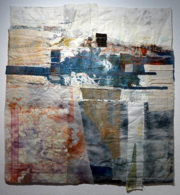 Cas Holmes (UK): Hochwasser 101 x 102 cm