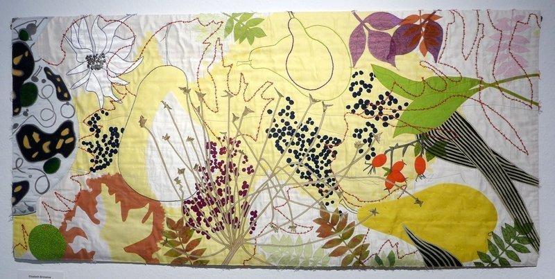 Elizabeth Brimelow (UK): Zartes Gelb 72 x 152 cm