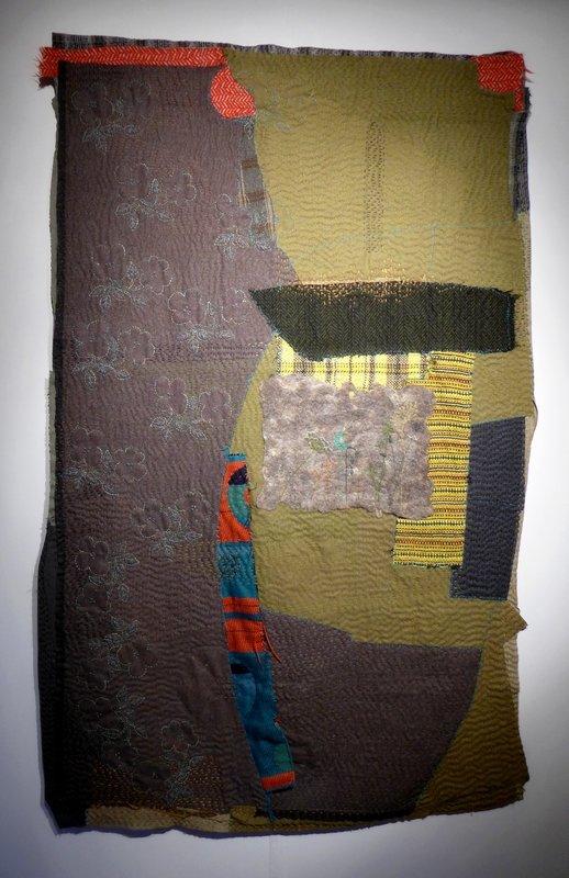 Segolaine Schweitzer (F): Gelassenheit, 180 x 110 cm