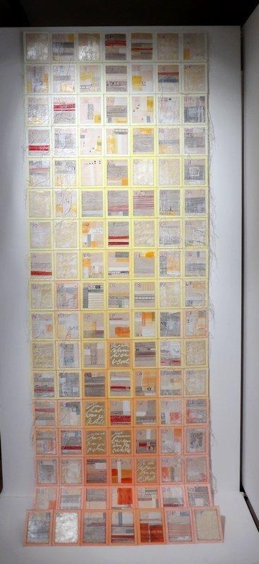 Gabi Mett (D): Erzählt mir Eure Geschichten 238 x 78 cm