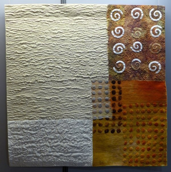 Cecilia González: Entrants de Fajol Ausstellung 'Tast textil' 21. Europäisches Patchwork Treffen 2015