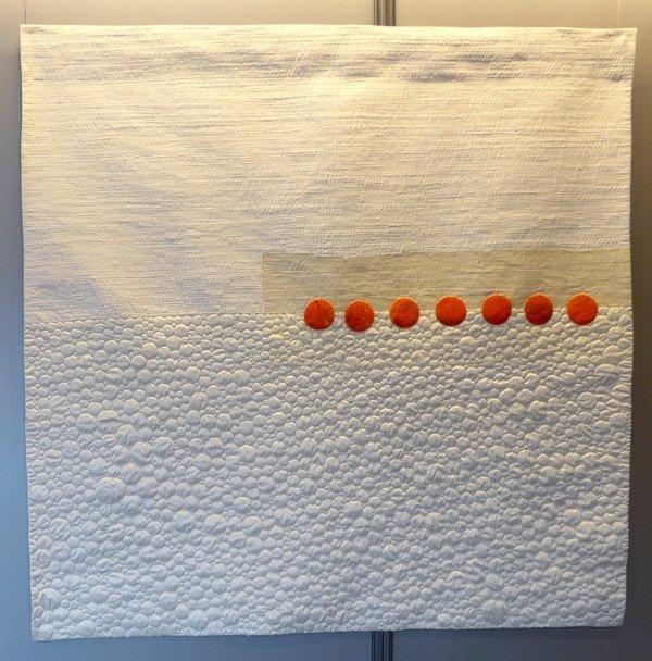 Cecilia González: Ou Ausstellung 'Tast textil' 21. Europäisches Patchwork Meeting 2015