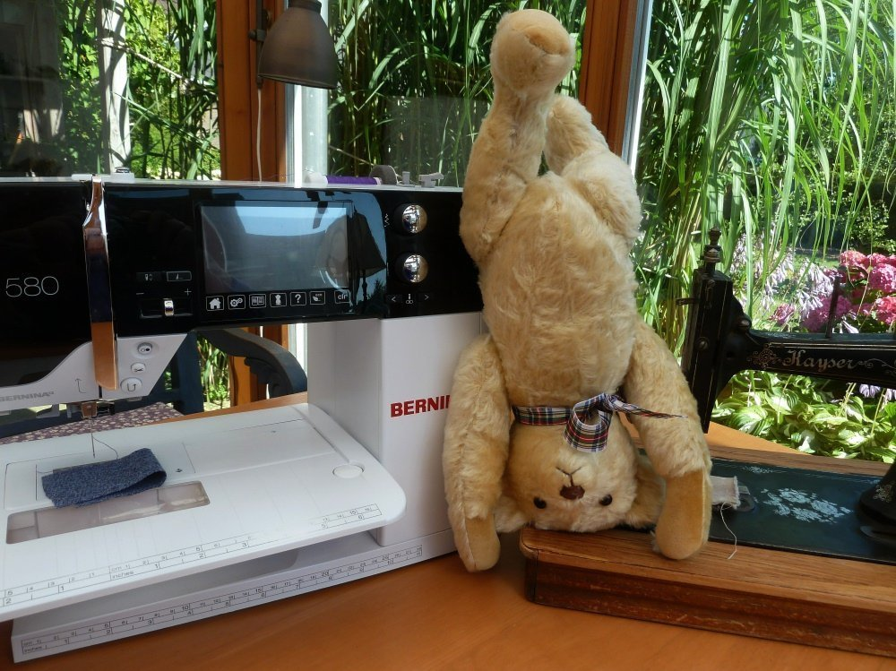 Nähanleitung Teddy mit Schnittmuster
