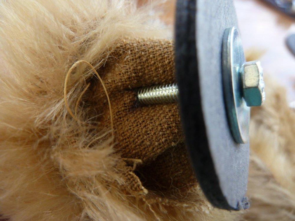 BERNINA-Mitmachaktion 2015:Teddynähen