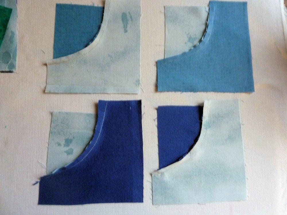 Nähanleitung für frei geschnittene Kreise