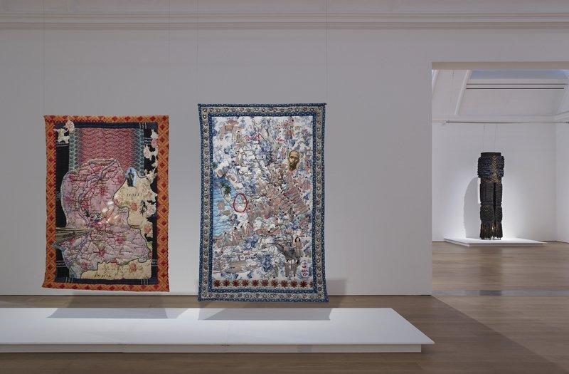 Art_Textiles in The Whitworth 2015, Ausstellungsansicht Foto: Michael Pollard. Mit freundlicher Genehmigung von The Whitworth