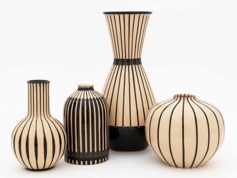 Hedwig Bollhagen: Vasen Ensemble Foto: HB Werkstätten Marwitz