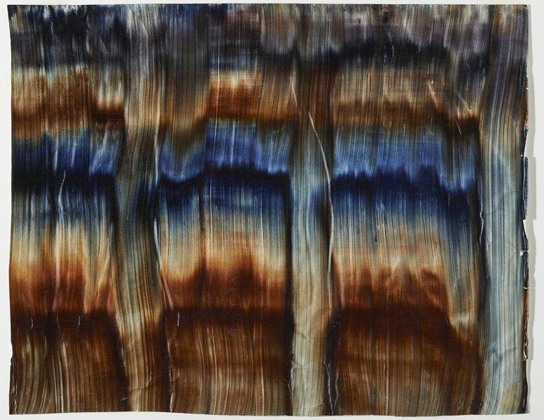 Ferdinand Nigg: Kleistermalerei 1903–1912 (Magdeburger Zeit), Kleistermalerei auf Papier, 37 x 46,5 cm Kanonikus Anton Frommelt-Stiftung, Vaduz Foto: Heinz Preute