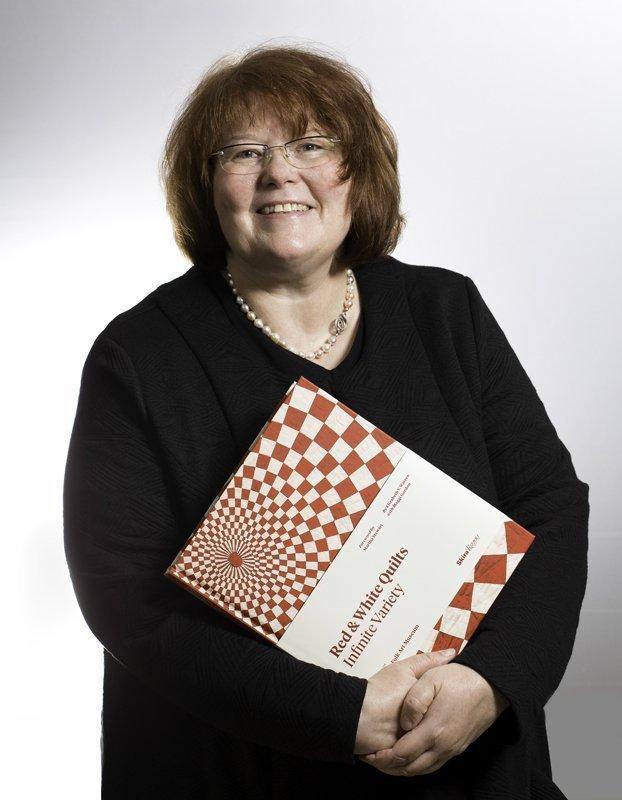 Gudrun Heinz mit 'Red & White Quilts' Foto: Fabian Heinz