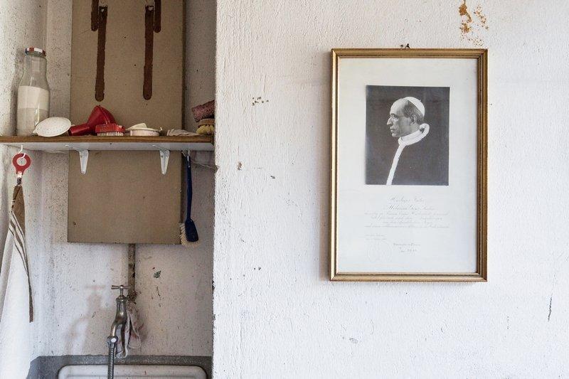 Andrea Vogel: Papst Pius römisch zwölf Foto: Tobias Siebrecht
