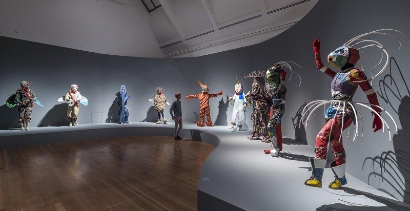 STURM-Frauen, Ausstellungsansicht © Schirn Kunsthalle Frankfurt, 2015 Foto: Norbert Miguletz