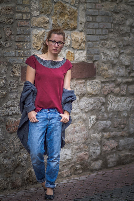 theblogbook Shirt Ledereinsatz3