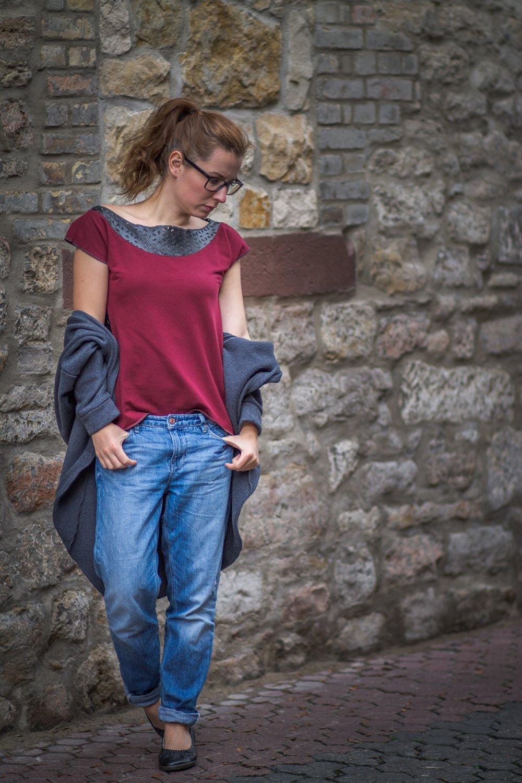 theblogbook Shirt Ledereinsatz4