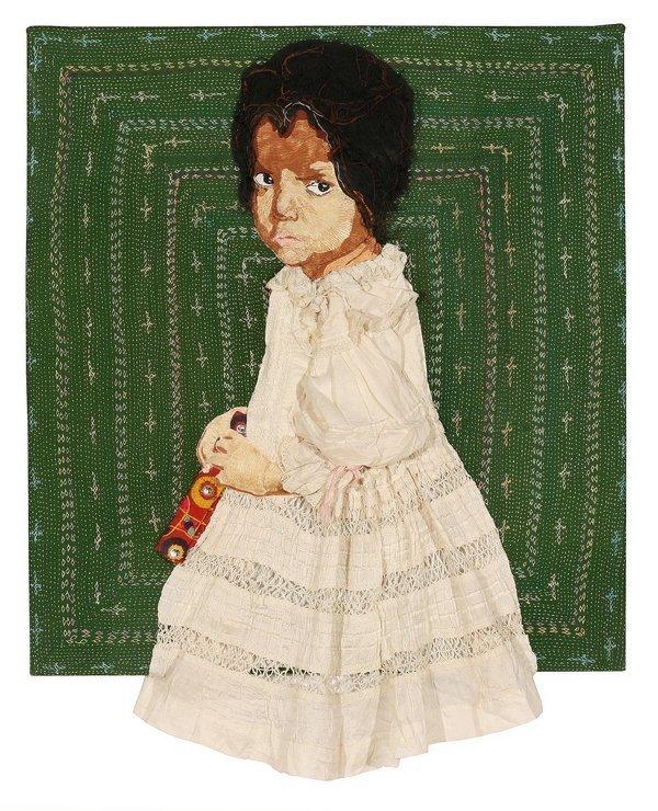 Aran Illingworth (GB): I'm a Big Girl Now 2011 26 x 26 x 1 in.