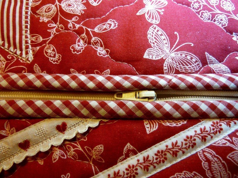 Taschenhüpfer nach der Anleitung vom farbenmix-Adventskalender