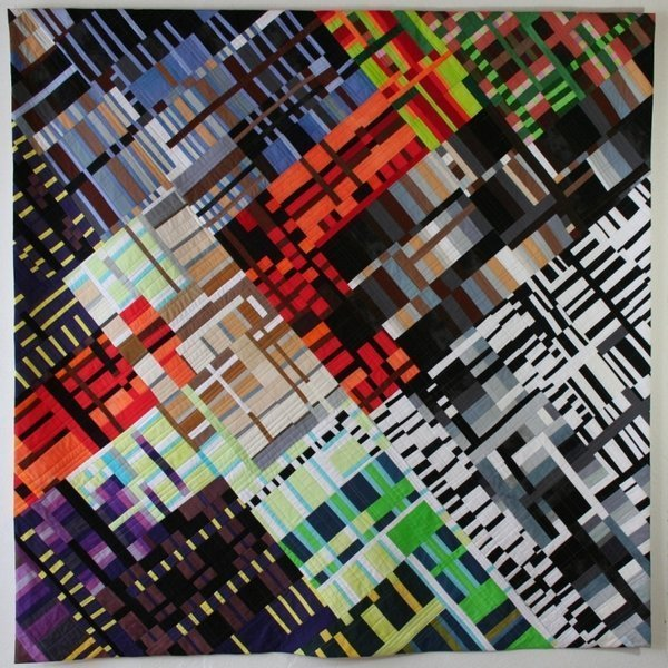 Ruth Bosshart-Rohrbach: Farbenlabyrinth Foto vom Kreismuseum Zons freundlicherweise zur Verfügung gestellt