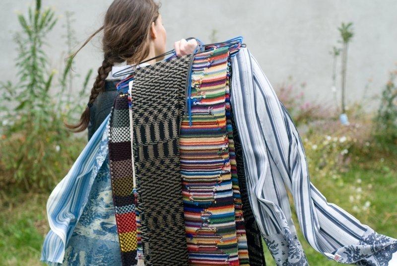 Schals 'Motley', 2009 Foto: Lise Duclaux