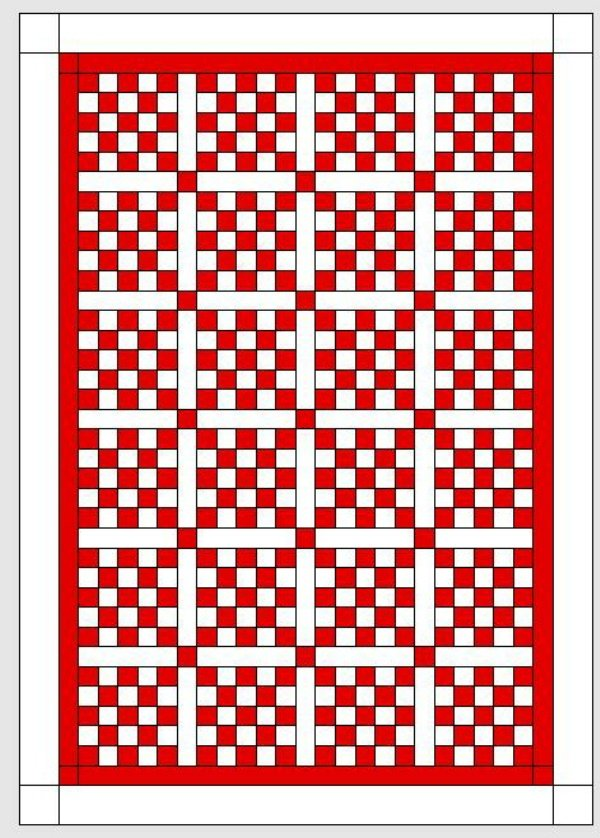 BERNINA-Mitmachaktion 2016: Red and White Quilts