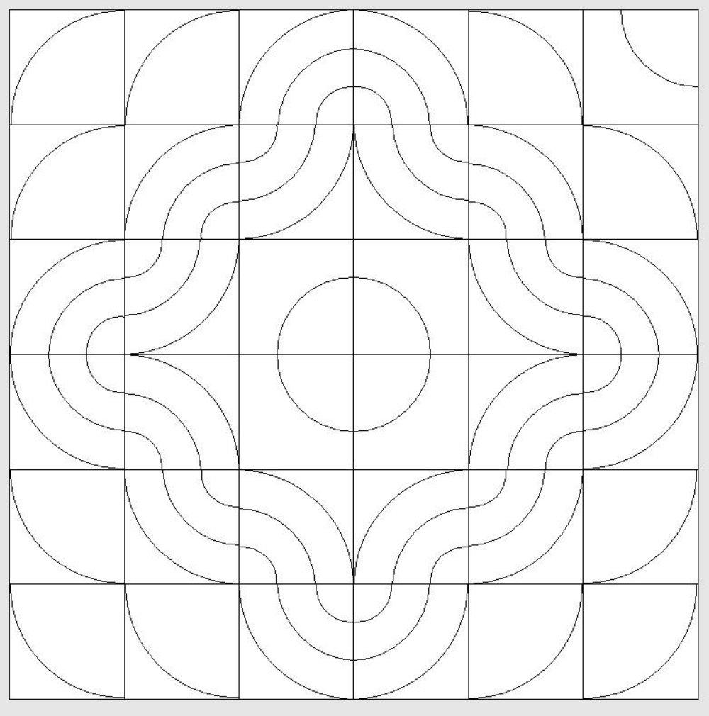 Nähanleitung für Kurven und Kreise