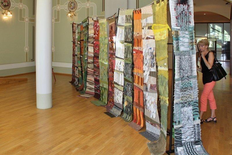 Gröbenzeller Quiltgruppe (D): Ausstellung 'Wald'