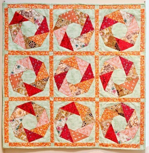 Ausstellung 'Colour Symphony' Arbeit von Edite Balode