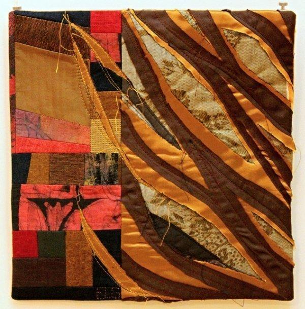 Ausstellung 'Colour Symphony' Arbeit von Elina Lusis-Grinberga
