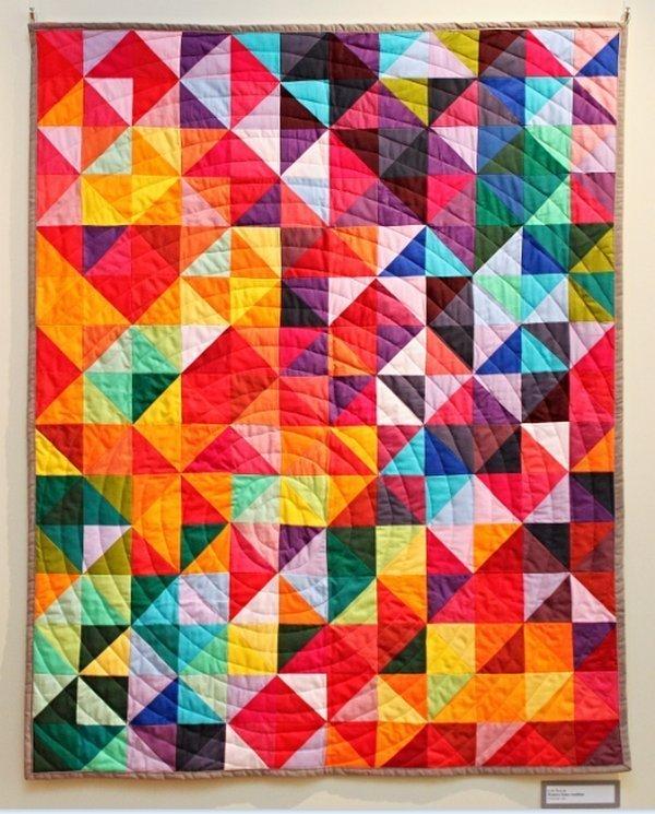 Ausstellung 'Colour Symphony' Arbeit von Ilze Sulja