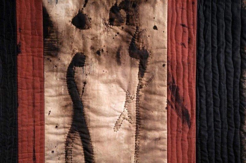 Annemarie Zoller-Sicker: Ritual, Detail Foto: Annemarie Zoller-Sicker