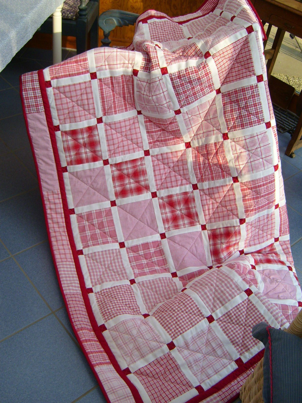 BERNINA -Mitmachaktion: Red and White Quilts