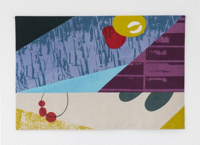 Michelle House: Winterlandscape 2014 Foto: Website Knitting & Stitching Show