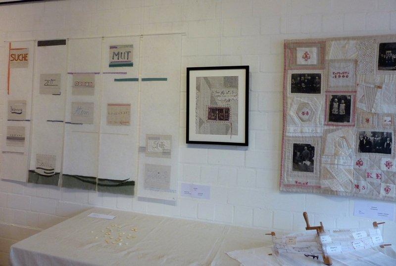 Blick in die Ausstellung 'Gemeinsam' Foto: Heide Mönkemeyer