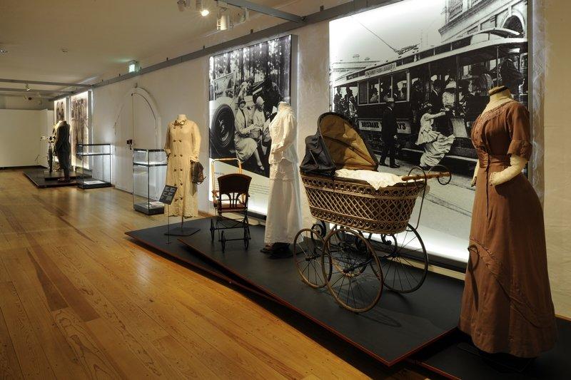 Blick in die Ausstellung Foto: Tanita Dreßen © LVR-Industriemuseum