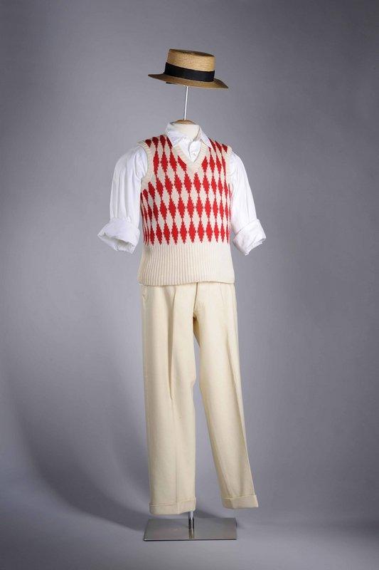 Sportliches Outfit eines Herrn, 1920er Jahre Insbesondere Jüngere bevorzugten in den 1920er Jahren eine legere Kleidung und verzichteten gerne, wenn möglich, auf den strengen Herrenanzug © LVR-Industriemuseum