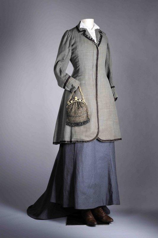 Reformkleid mit Jacke für den Tag, 1900-1910 © LVR-Industriemuseum