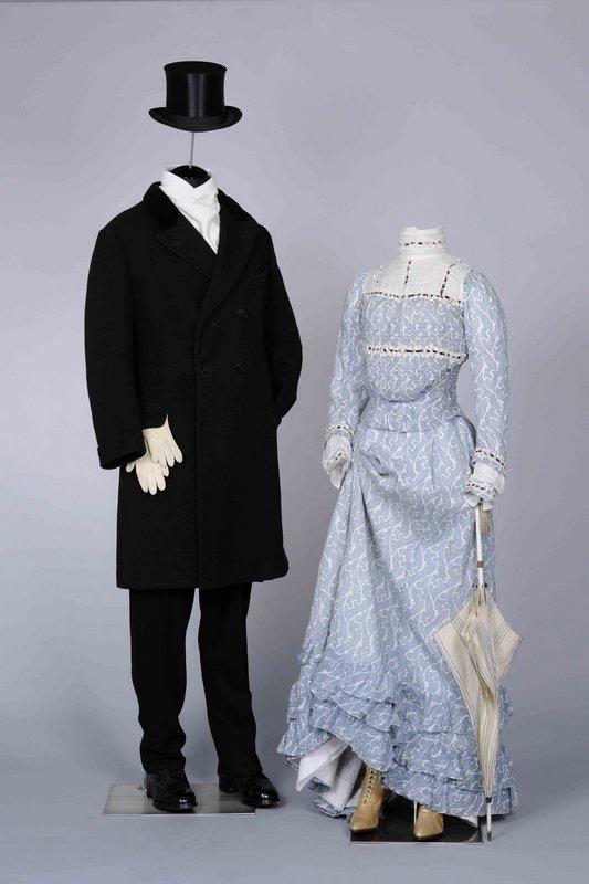 Bürgerliches Paar in Sommerkleidung, 1890er Jahre © LVR-Industriemuseum
