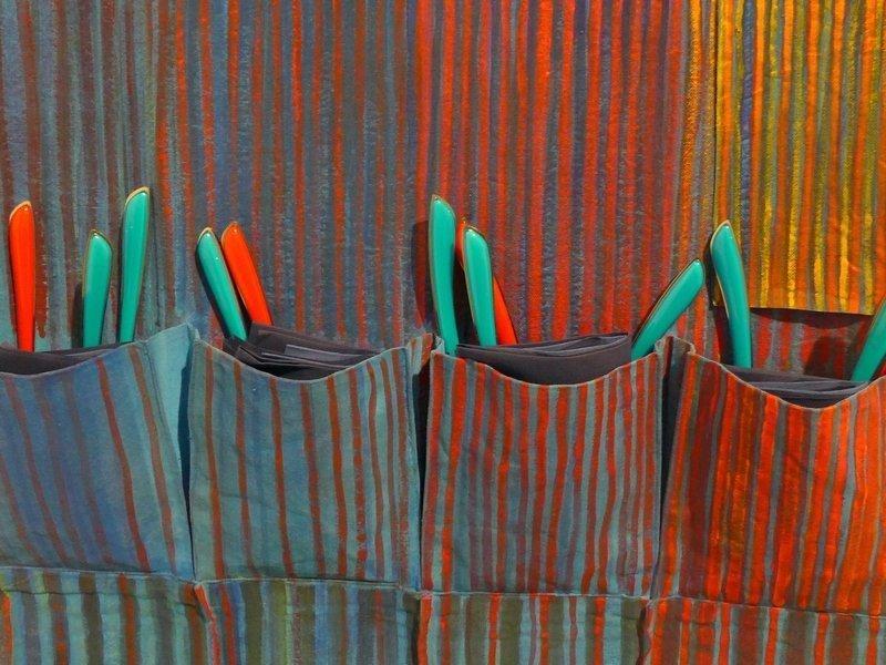 Francoise Decorse: Carmagnole, Detail Blick in das 'Carré des galeries'