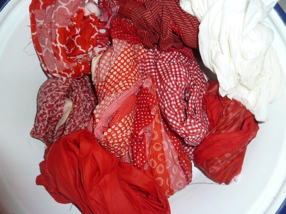 BERNINA-Mitmachaktion 2016: Red and White Quilts nähen : das Snowballmuster