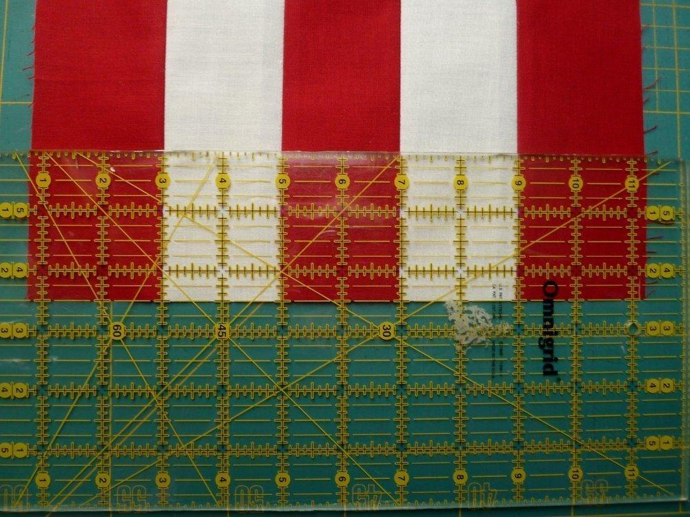 BERNINA Mitmachaktion 2016: Red and White Quilts, Nähanleitung Double Irish Chain